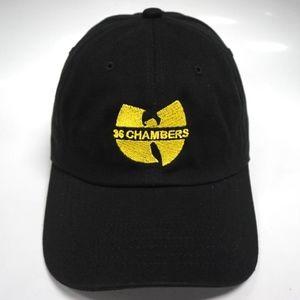 Wu Tang Clan Accessories - Wu Tang Clan 36 Chambers Dad Hat Slouch Cap 3c754f34fa5